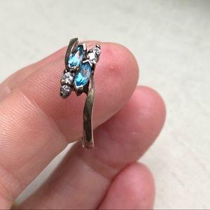 Sterling vintage Avon ring